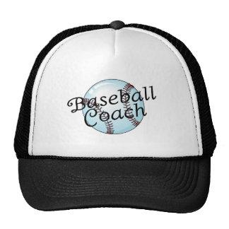 Baseball Coach Trucker Hat