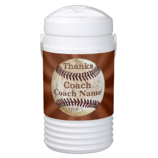 Baseball Coaching Gifts Personalized Cooler Jug