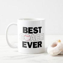 Tennis Coach Best Coach Ever Funny Coffee Mug Zazzle Com