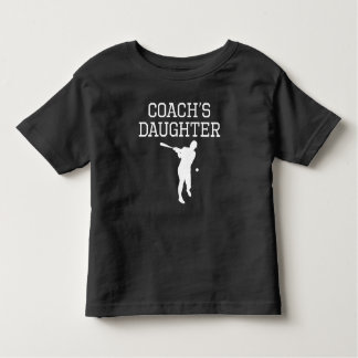 Baseball Coach's Daughter Toddler T-shirt
