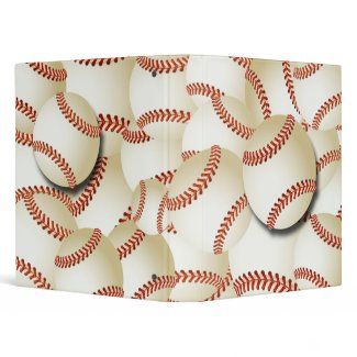 BASEBALL COLLAGE binder