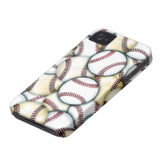 Baseball Collage iPhone 4 Case-Mate Cases