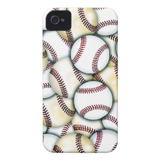 Baseball Collage iPhone 4 Covers