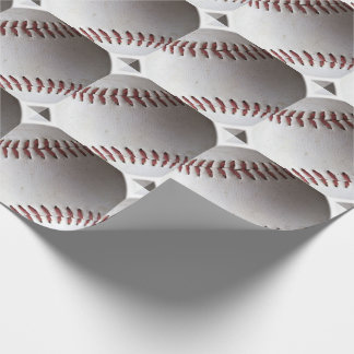 Baseball Collage Wrapping Paper