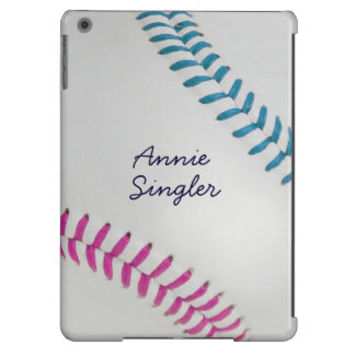 Baseball_Color Laces_fu_tl_autograph style 2 Cover For iPad Air