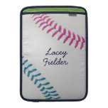 Baseball_Color Laces_fu_tl_autograph style 2 MacBook Sleeve