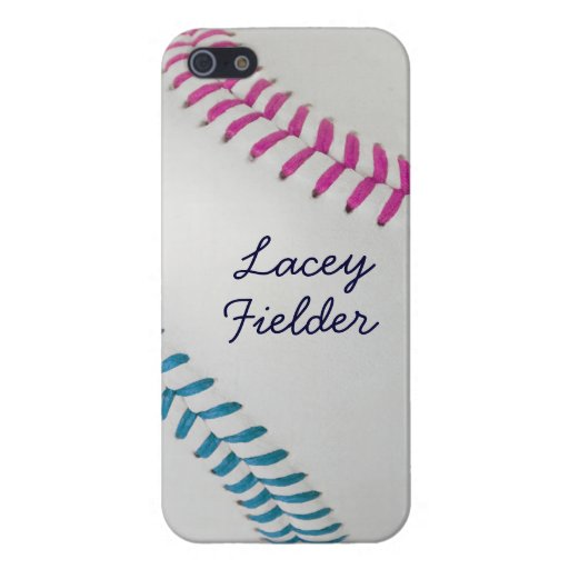 Baseball_Color Laces_fu_tl_autograph style 2 iPhone 5 Cover