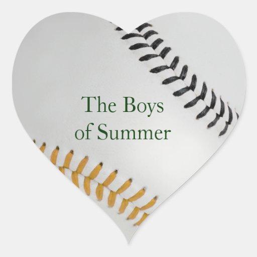 Baseball_Color Laces_go_bk__Boys del verano Pegatinas