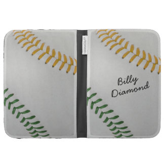 Baseball_Color Laces_go_gr_autograph style 1 Kindle Covers