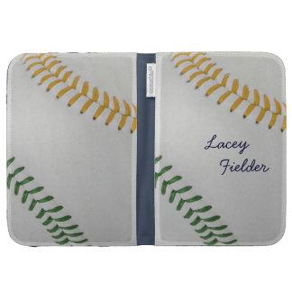Baseball_Color Laces_go_gr_autograph style 2 Kindle 3G Cover
