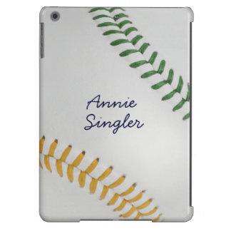 Baseball_Color Laces_go_gr_autograph style 2 iPad Air Cover
