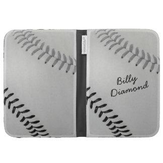 Baseball_Color Laces_gy_bk_autograph style 1 Kindle 3G Cases