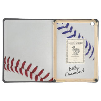 Baseball_Color Laces_nb_dr_autograph style 1 Case For iPad Air