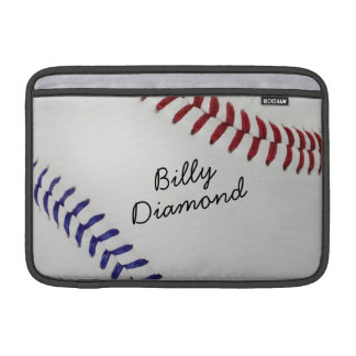 Baseball_Color Laces_nb_dr_autograph style 1 MacBook Sleeve