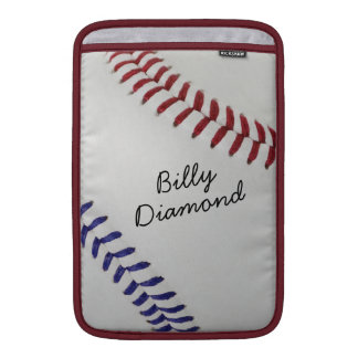 Baseball_Color Laces_nb_dr_autograph style 1 Sleeves For MacBook Air