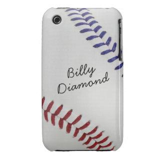 Baseball_Color Laces_nb_dr_autograph style 1 iPhone 3 Case-Mate Case