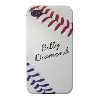 Baseball_Color Laces_nb_dr_autograph style 1 iPhone 4/4S Case