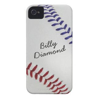 Baseball_Color Laces_nb_dr_autograph style 1 iPhone 4 Case