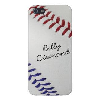 Baseball_Color Laces_nb_dr_autograph style 1 iPhone SE/5/5s Cover