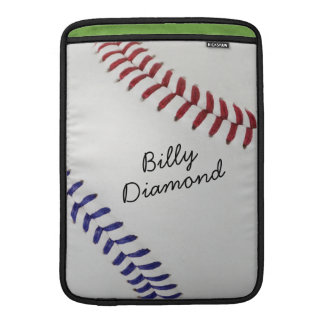 Baseball_Color Laces_nb_dr_autograph style 1 MacBook Air Sleeve