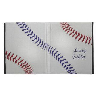 Baseball_Color Laces_nb_dr_autograph style 2 iPad Folio Case