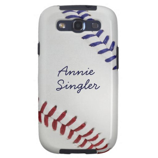 Baseball_Color Laces_nb_dr_autograph style 2 Galaxy S3 Covers