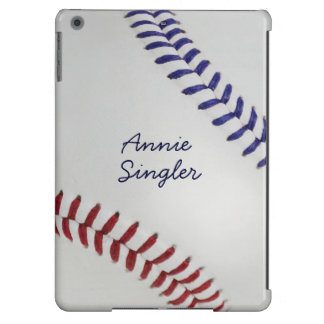 Baseball_Color Laces_nb_dr_autograph style 2 iPad Air Cover