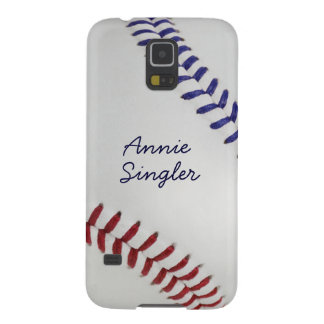 Baseball_Color Laces_nb_dr_autograph style 2 Galaxy S5 Case