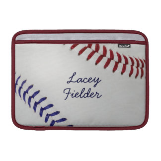 Baseball_Color Laces_nb_dr_autograph style 2 MacBook Sleeves