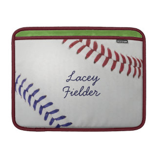 Baseball_Color Laces_nb_dr_autograph style 2 Sleeve For MacBook Air