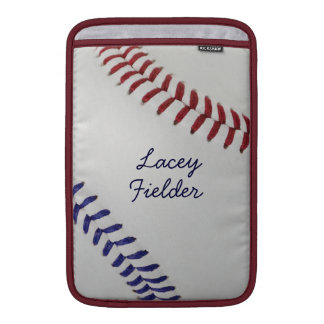 Baseball_Color Laces_nb_dr_autograph style 2 MacBook Sleeve
