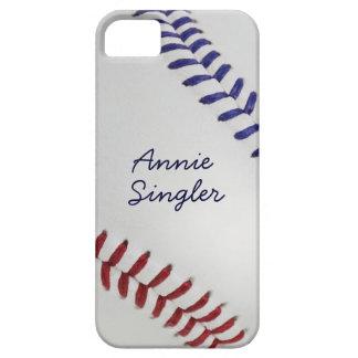 Baseball_Color Laces_nb_dr_autograph style 2 iPhone SE/5/5s Case