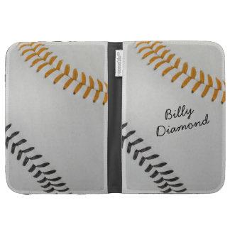 Baseball_Color Laces_og_bk_autograph style 1 Kindle Cases