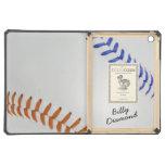 Baseball_Color Laces_og_bl_autograph style 1 iPad Air Cases