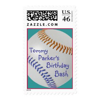 Baseball_Color Laces_OG_BL_personalized Stamp
