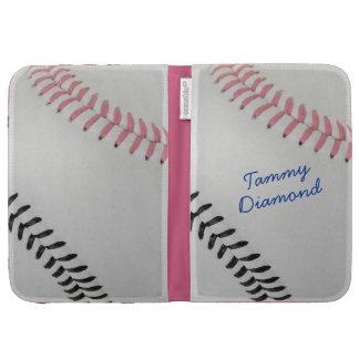 Baseball_Color Laces_pk_bk_autograph style 1 Kindle 3 Cases