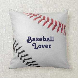 Baseball_Color Laces_rd_bl_Baseball Lover Pillows