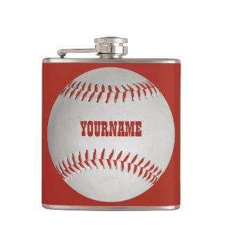 Baseball custom flask