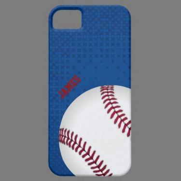 Baseball Custom iPhone 5 Case