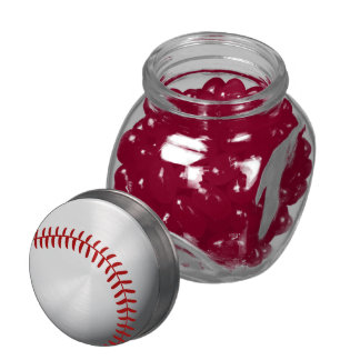Baseball Custom Jelly Belly Candy Jars