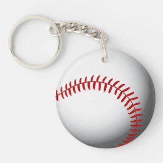 Baseball Custom Keychain