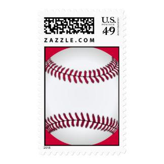 Baseball Custom Postage Stamps