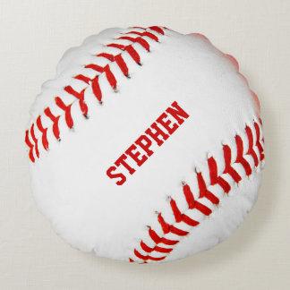 Baseball Custom Round Pillow