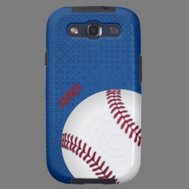 Baseball Custom Samsung Galaxy S3 Case