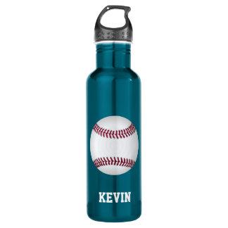 Baseball Custom Stainless Steel Water Bottle