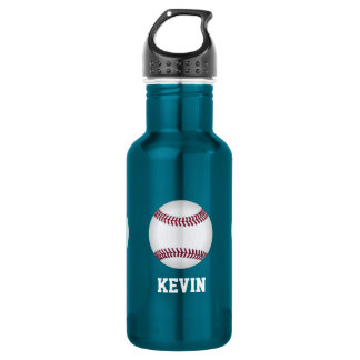 Baseball Custom Water Bottle