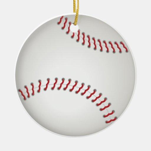 Baseball - customized ornament