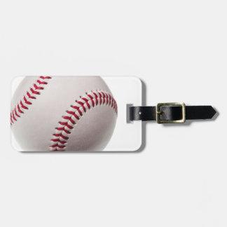 Baseball - Customized Tag For Luggage