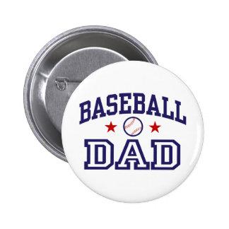 Baseball Dad 2 Inch Round Button