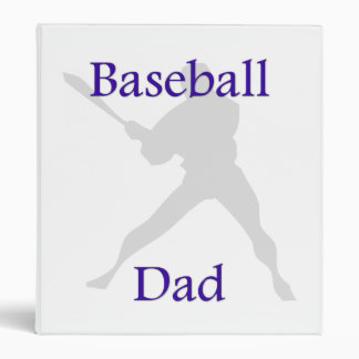 Baseball Dad Binder